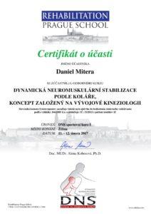 Certifikát DNS podľa Koláře - Michalovce
