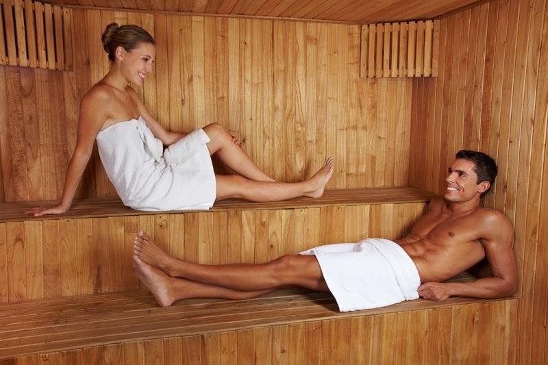 Sauna a cvičenie